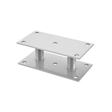 supporto-fonderia-piastre-rettangolari-forate-2-gambi-rullati