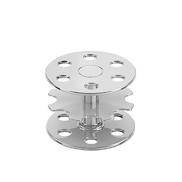 vemek-perforated-round-plate-chaplets-with-fusion-plates-for-foundries